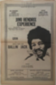jimi hendrix memorabilia 1970/ june 20, & june 21,1970