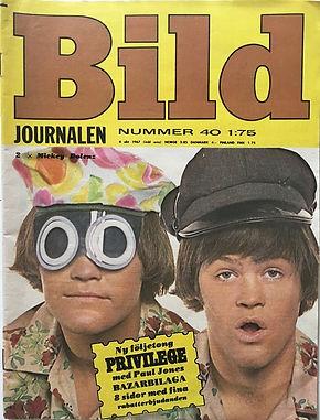 jimi hendrix magazines 1967/ bild october 4, 1967