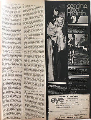 jimi hendrix magazine/eye june 1968