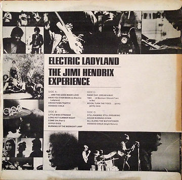jimi hendrix rotily vinyls collector/electric ladyland / S.Korea