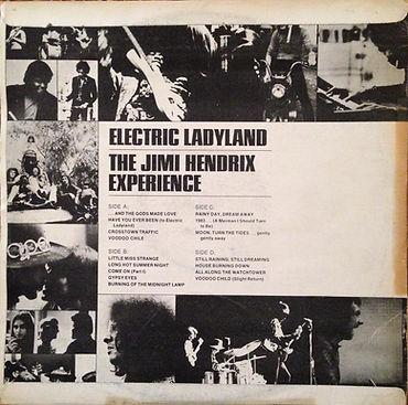 jimi hendrix rotily vinyls collector/electric ladyland / S.Korea
