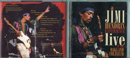jimi hendrix bootlegs cd 1969/live at the oakland coliseum 1969
