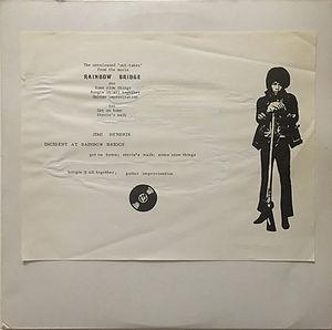 jimi hendrix bootlegs vinyls 1970 / tmoq 1840 :   rainbow bridge