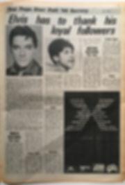 jimi hendrx newspaper 1968/top pops star poll'68