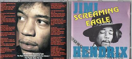 jimi hendrix cd bootlegs/screaming eagle jimi hendrix