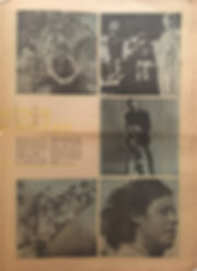 jimi hendrix newspaper 1969/the east village other august 13 1969 / woodstock