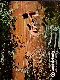 jimi hendrix collector memorabilia/movie program woodstock and LPs 1970