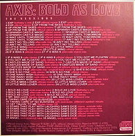 jimi hendrix cd collector /3cds axis bold a love sessions