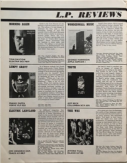 jimi hendrix magazine 1968/beat instrumental december 1968
