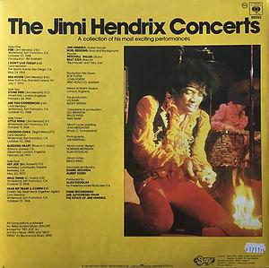 jimi hendrix vinyls album / the jimi hendrix concerts / suzy records yugoslavia