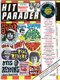 magazine collector    hit parader  8/67