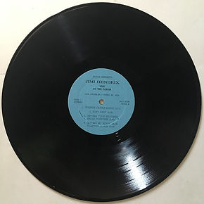 jimi hendrix bootlegs vinyls albums 1970 side 1 / live at the forum