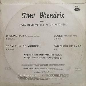 jimi hendrix vinyls reissue /  jimi hendrix : ariola