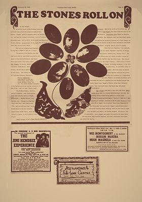 jimi hendrix newspaper/ washington free press 29/2/68