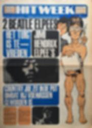jimi hendrix newspapr 1968 / hit week november 22 1968 electric ladyland