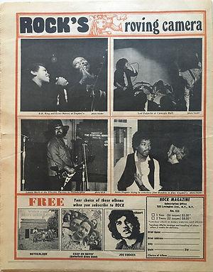 jimi hendrix newspapers 1969/ rock november 10, 1969