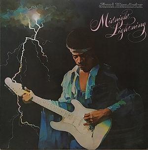 jimi hendrix vinyl album midnight lightning  / 1975 australia
