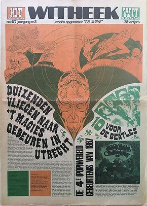 jimi hendrix collector newspaper/hit week 24/11/67