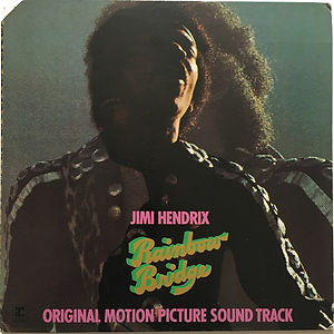 jimi hendrix vinyls albums collector/rainbow bridge reprise records MS 2040/usa october 1971