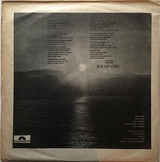 jimi hendrix vinyls album/the cry of love chile 1972 polydor