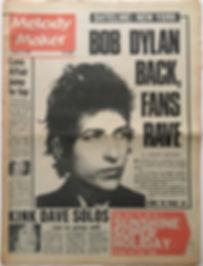 jimi hendrix newspaper/melody maker 27/1/68