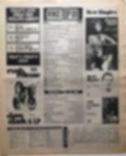 jimi hendrix newspaper 1968/new musical express  top 30