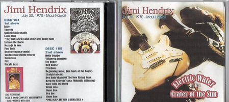 jimi hendrix bootlegs cd / electric water in the crater of the sun  /  2cd