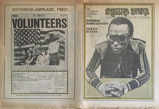 jimi hendrix newspapers 1969/rolling stone december 12, 1969