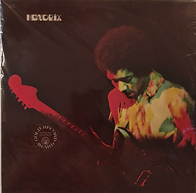 jimi hendrix collector vinyls/albums/LPs/band of gypsys  india 1991