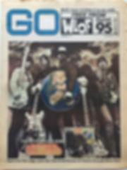 jimi hendrix newspaper 1968 /go 11/10/68
