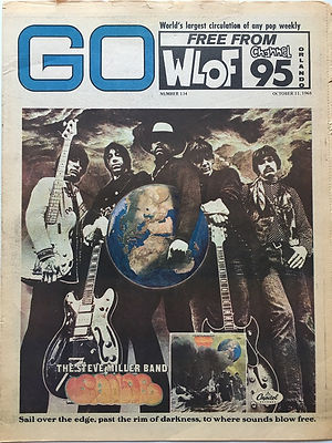 jimi hendrix newspaper 1968 /go 11/10/68