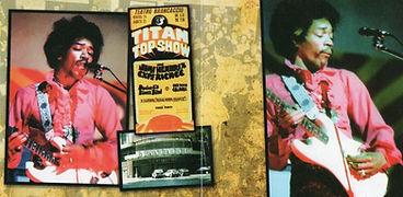 jimi hendrix cd bootlegs/titan top show italy may 25 1968