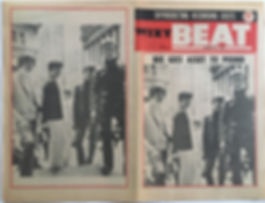 jimi hendrix newspaper/beat 27/1/1968