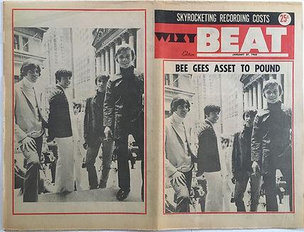 jimi hendrix newspaper/beat 27/1/1968