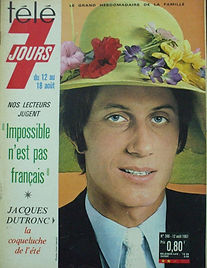 jimi hendrix magazine/ tele 7 jours 12/18 august 1967 music hall de france