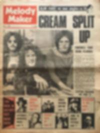 jimi hendrix newspaper/melody maker july 13 1968