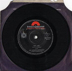 jimi hendrix rotily patrick vinyl/ hey joe