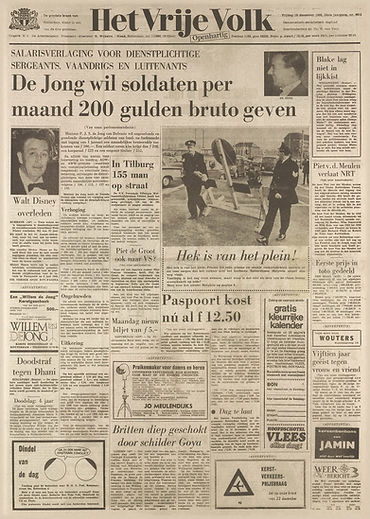 jimi hendrix newspapers 1966/