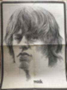 eye may 1968 poster/jimi hendrix magazine collector
