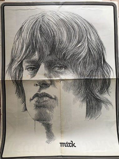 eye may 1968 poster/jimi hendrix magazine collector
