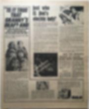 jimi hendrix newspaper 1968/disc music echo november 16 1968