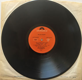jimi hendrix album vinyl lps/isle of wight argentina side:a