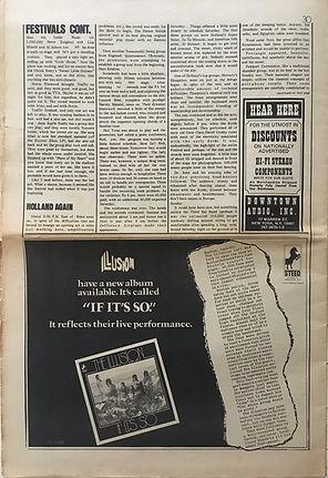 jimi hendrix memorabilia 1970/ rock august 3, 1970 : festivals