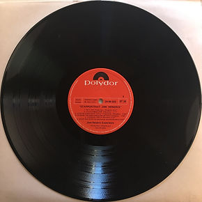 jimi hendrix collector vinyls/ starportrait disc 1 side 1 /  1971 spanish