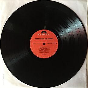 jimi hendrix collector box lp / record 1/ side 1 : starportrait