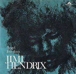 jimi hendrix vinyls singles/angel freedom norway 1971