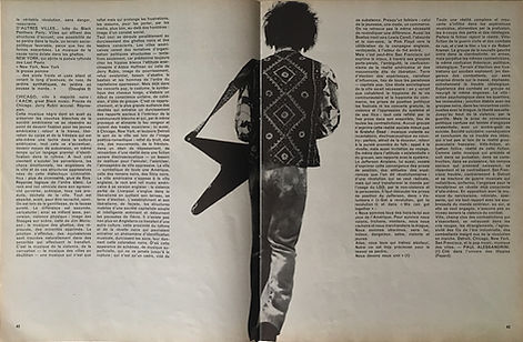 jimi hendrix magazines 1970 death/ rock & folk : december 1970