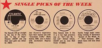 jimi hendrix collector magazines/cash box11/23/1968
