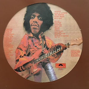 jimi hendrix bootlegs vinyls picture disc /band of gypsys