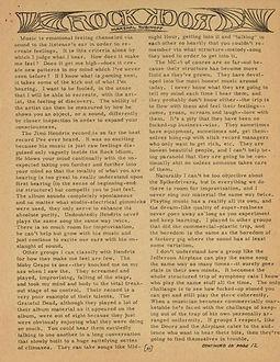 jimi hendrix newspaper/warren forest sun september 1967